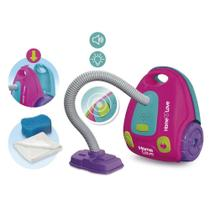 Brinquedo Infantil Aspirador De Pó Limpeza C/Som e Luz Usual - Usual Brinquedos