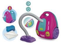Brinquedo Infantil Aspirador De Pó Limpeza C/Som e Luz Usual -