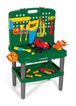 Brinquedo Infantil Bancada de Ferramentas Poliplac - 45 Peças -