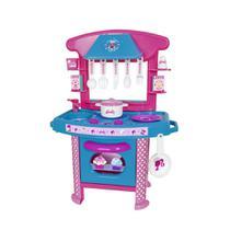 Brinquedo infantil barbie cheff cozinha fogãozinho - Cotiplas