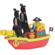 Brinquedo Infantil Barco Aventura Pirata - Mercotoys 424 -