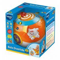 Brinquedo Infantil Bola Divertida Com Som E Luz - Vtech -