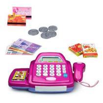 Brinquedo infantil Caixa Registradora Mercadinho Som e Luz - Toy King
