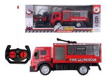 Brinquedo Infantil Caminhão Bombeiro De Controle Remoto - TOYS