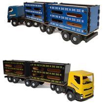 Brinquedo Infantil Caminhão Caminhãozinho Carreta Boiadeiro Tam Médio - California
