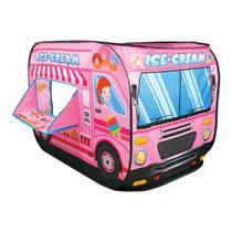 Brinquedo Infantil Caminhão De Sorvete Barraca Sorveteria - Outras marcas
