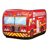 Brinquedo Infantil Caminhão Dos Bombeiros Barraca Bombeiro - Outras marcas