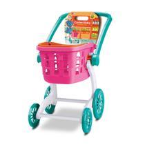 Brinquedo Infantil Carrinho Supermercado Compras 2 em 1 - Samba Toys