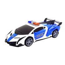 Brinquedo Infantil Carro de Polícia que Abre as Portas e Gira 360º com Som e Luz - Barcelona