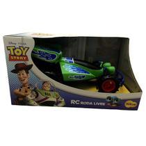 Brinquedo Infantil Carro Grande Roda Livre RC Buggy Toy Story Disney - Yellow -