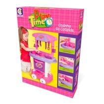 Brinquedo Infantil Cotiplás Cozinha Play Time Rosa  (4966) - Cotiplas