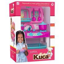 Brinquedo Infantil Cozinha Mestre Kuca Com Super Fogão - Mielle -