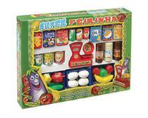 Brinquedo Infantil Cozinha  Super Feirinha Comidinhas - Pica Pau