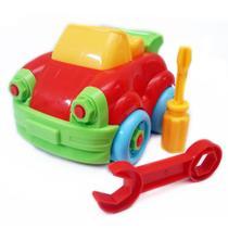 Brinquedo Infantil Didático Monta Desmonta - Carro - Wellmix