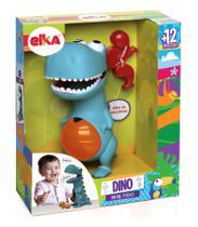 Brinquedo Infantil Dino Papa Tudo Dinossauro Didático Boneco - Elka
