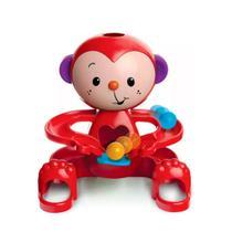 Brinquedo infantil educativo macaquinho zuquinha bolinhas escorregam colorido - Elka