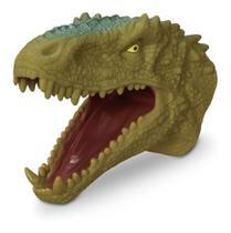 Brinquedo Infantil Fantoche Dinossauro Tirano Rex Adijomar -