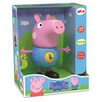 Brinquedo Infantil George Com Atividades Peppa Pig 1098 - Elka -