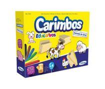 Brinquedo Infantil Jogo Carimbo Educativos Animais Do Sitio Xalingo -