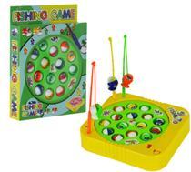 Brinquedo Infantil Jogo de Pescar Pega Peixe Pesca Maluca - Fungame