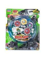 Brinquedo Infantil Kit Beyblade Tornado Wild Top Metal Battle 5D -