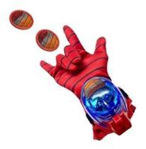 Brinquedo Infantil Luva Homem Aranha Lança Discos - Automattica