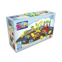 Brinquedo Infantil Mega Construção 73 Peças Dismat Mk322 -