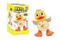 Brinquedo Infantil Pato Dançarino Patinho Musical com luz - Toy King