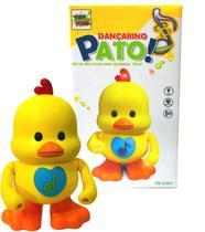 Brinquedo Infantil Pato Dançarino Patinho Musical e Luz - Toy King