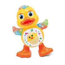 Brinquedo Infantil Pato Musical Dança Luz e Som - 99Toys