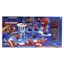 Brinquedo Infantil Pista Sonic Estacionamento De Carros De Corrida Collect Them All Dony Toys -