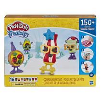 Brinquedo Infantil Play Doh Pack Kit Com 4 Mini Lanches Sortido Hasbro -