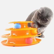 Brinquedo Interativo Corre Corre p/ Gatos  Pet Toy - Western - Etilux