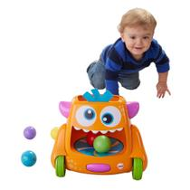 Brinquedo Interativo Monstro - Movimento e Bolinhas Divertidas - Fisher-Price - Fisher price