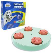 Brinquedo interativo para cachorro esconde snack com 8 compartimentos 23cm de ø - Western Pet