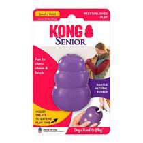 Brinquedo Interativo para Cachorro Kong Senior com Dispenser para Ração -