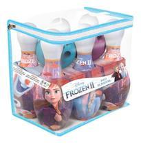 Brinquedo Jogo De Boliche Infantil Patrulha Canina Toy Story Frozen Minions - Líder