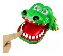 Brinquedo Jogo Divertido Crocodilo Dentista Polibrinq AN0025 -