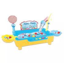 Brinquedo Jogo Pega Peixe Pescaria Aqua Pesca Np-232 - Fênix - Fenix