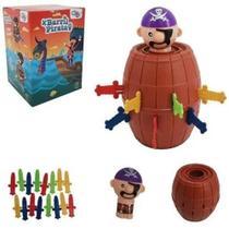 Brinquedo Jogo Pula Pirata do Barril - Well Kids