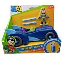 Brinquedo Jovens Titãs Robin e Batmovel Imaginext -  Dtm82 - Mattel