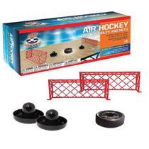 Brinquedo Kit Air Hockey com Disco Flutuante Rebatedores e Traves Futebol e Magia - 8678 - Futebol E Magia & Cia