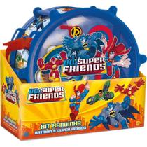 Brinquedo Kit Bandinha Batman e Super Amigos da Fun 80939 -