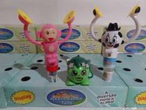 brinquedo kit c/3=1 mico bate prato c/balinha 1 bola bate prato c/balinha 1 porta doce - Royal