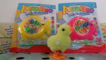brinquedo kit c/3=2 pesca peixe 1 pintinho a corda - Vip