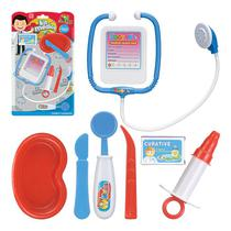 Brinquedo Kit Médico Enfermeiro Infantil 7 Peças - Artbrink