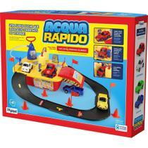 Brinquedo Lava Rápido Jato Acqua C/ 4 Carrinhos - Xplast - Homeplay