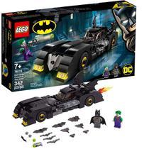 Brinquedo Lego Batman Com Batmovel Contra O Coringa +7 Anos 342 Peças -