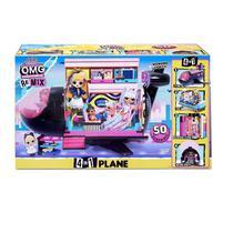 Brinquedo LOL Surprise OMG Avião Remix Candide 8962 -