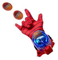 Brinquedo Luva homem aranha C/luz E Som Lança Discos Vingadores - Kotobukiya